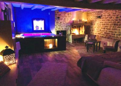 Suite Bacchus du Domaine de Vandenesse et Spa